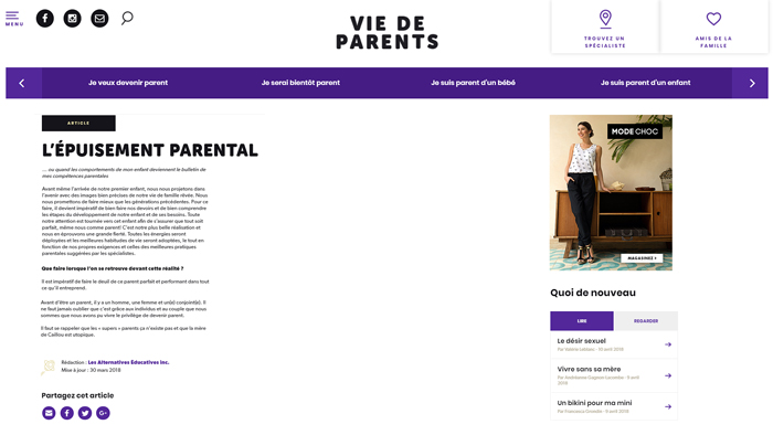 vie de parents 3
