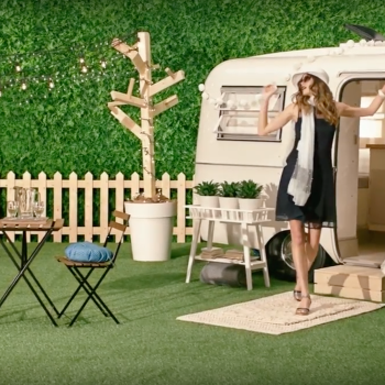 Marie Claire Boutique s'inspire du Glamping