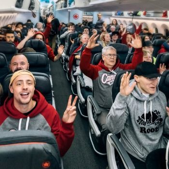 Roots et Air Canada surprennent un vol Vancouver-Melbourne