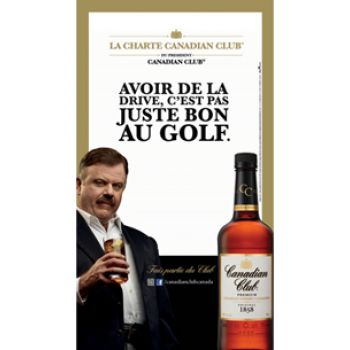 Astral Mix propage la Charte Canadian Club