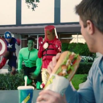 Subway prend part à la promotion du nouveau film de Marvel