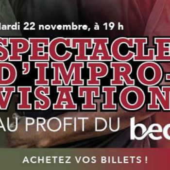 Spectacle d'improvisation au profit du BEC