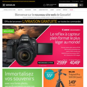 Gosselin Photo passe au commerce omnicanal
