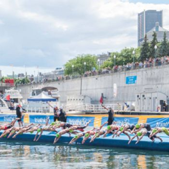 Le triathlon international de Montréal carbure au Web