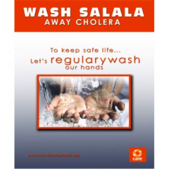 Wash Salala, away Cholera